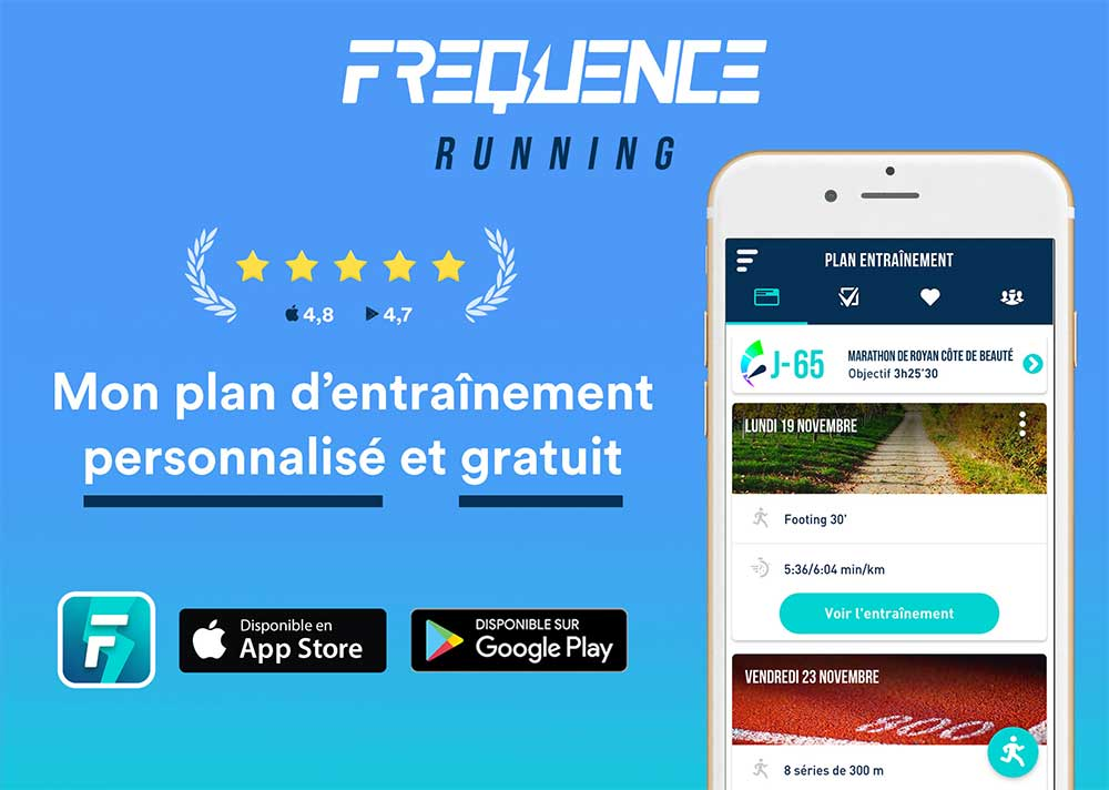 frequence running application